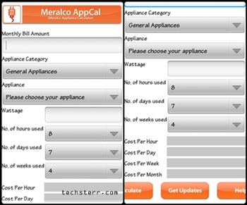 Meralco appliance calculator mommy pehpot.