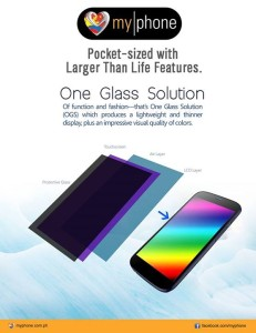 MyPhone One Glass Solution